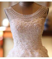 new wedding dress bridal gown lace pearl bohemian size 2 4 6 8 10 12 14 princess