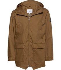 shelter jacket parka jacka brun makia