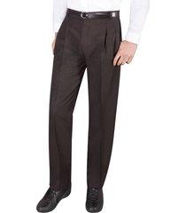 envío gratis pantalon colegial negro para hombre croydon