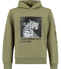 coolcat hoodie silver cc