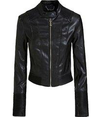 chaqueta cynthia jacket negro guess
