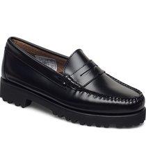 gh weejuns 90s penny loafers låga skor svart g.h. bass