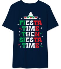 fiesta siesta men's graphic t-shirt