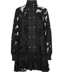 lara kort klänning svart custommade