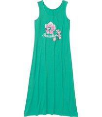 camicia da notte lunga (verde) - bpc bonprix collection
