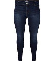 slim fit jeans donkerblauwe