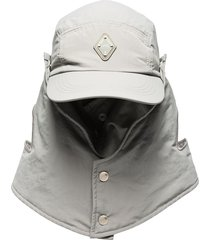 a-cold-wall* buttoned desert hat - grey
