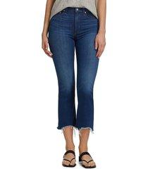 rag & bone women's nina high-rise ankle flare jeans - cross field - size 29 (6-8)