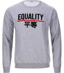 buzo equality color gris, talla l