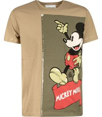 iceberg mickey mouse print t-shirt