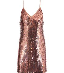 alice + olivia mini dress with sequins