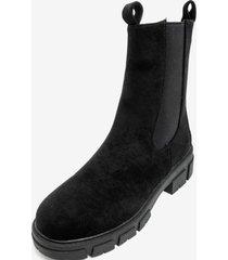 bota jazmín black chancleta