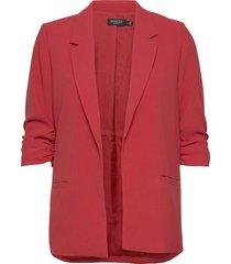 slshirley blazer blazers casual blazers röd soaked in luxury