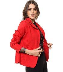 blazer rojo zaf punto roma
