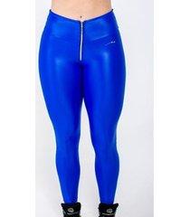 calça legging fuseau cirré ziper dazz feminina