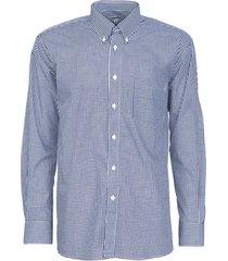 camisa premium cuadrillé azul kotting