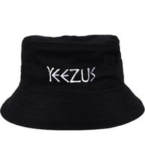 chapéu bucket skull clothing yeezus - unissex