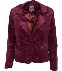 85513-10 blazer burgundy