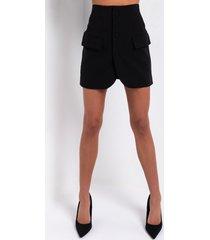akira keep it sleek mini skirt