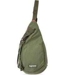 supreme sling shoulder bag - green