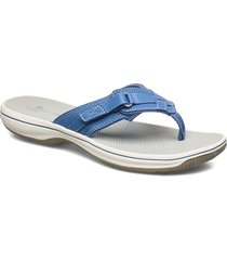 brinkley sea shoes summer shoes flat sandals blå clarks
