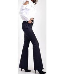 spodnie flared
