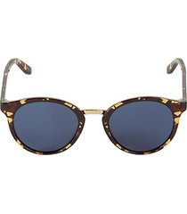 49mm tortoiseshell pantos sunglasses