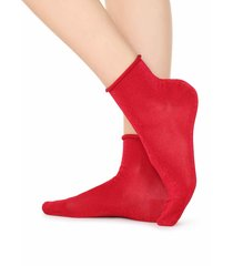calzedonia - patterned short socks, one size, red, women
