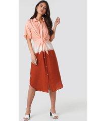 mango toky5 dress - red