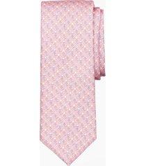 corbata nautical motif rosado brooks brothers