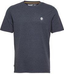 gd jersey tee t-shirts short-sleeved blå timberland