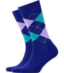 burlington king socks - purple/green - 21020-6006