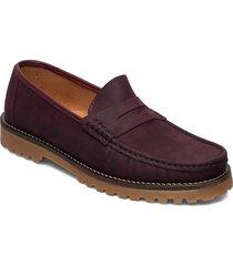 rough loafer loafers låga skor röd marstrand