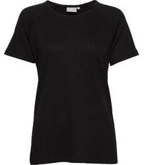 t-shirt s/s t-shirts & tops short-sleeved svart brandtex