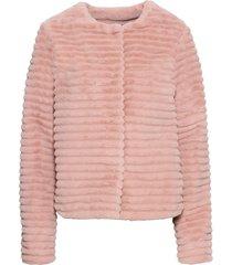 giacca in ecopelliccia (rosa) - bodyflirt