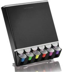 mind reader 42 capacity coffee pod storage dispenser for nespresso capsules