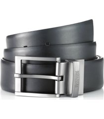 men's reversible textured kenneth cole reaction reversible dress belt, created for macy's
