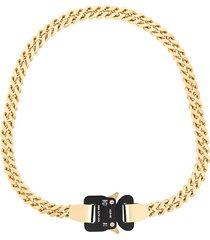 1017 alyx 9sm signature lock necklace - gold
