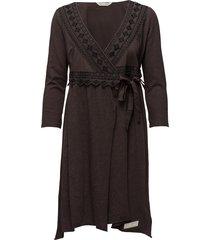 get-a-way l/s dress jurk knielengte grijs odd molly