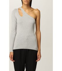 michael michael kors sweater michael michael kors sweater with cut-out detail
