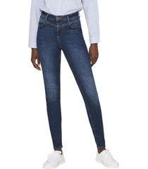 jeans moldeadores azul oscuro esprit