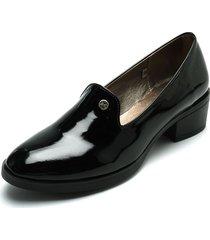 zapato dama negro tellenzi 1401