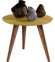 mesa lateral retrô cissa - dourado - compre aqui