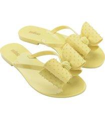 sandalia amarillo melissa harmonic sweet iv ad