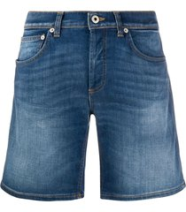dondup holly bermuda denim short - blue