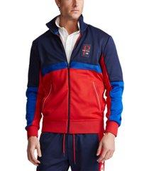 polo ralph lauren men's mesh track jacket