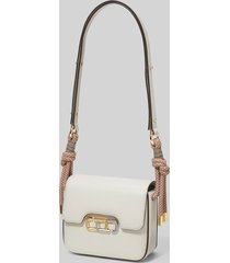 marc jacobs women's the j link twist mini shoulder bag - ivory