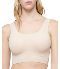 calvin klein invisible comfort mesh lift scoop bralette qf6547
