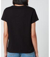 a.p.c. women's vpc t-shirt - black - s
