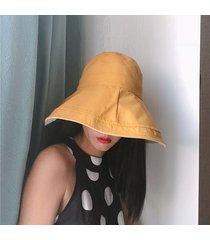 cappello estivo da pescatore con visiera lunga da donna cappellino da pescatore pieghevole da sole a doppia faccia